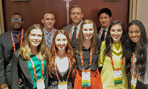 Students participate in internships in New York